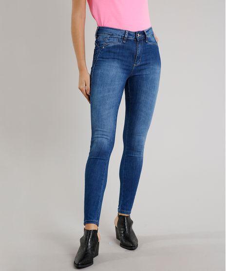 Calca-Jeans-Feminina-Sawary-Cigarrete-com-Recorte-Azul-Medio-9671817-Azul_Medio_1