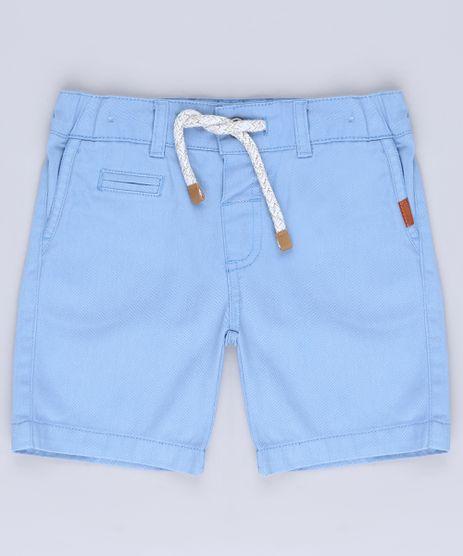 Bermuda-de-Sarja-Infantil-com-Bolso-e-Cordao-Azul-9564069-Azul_1