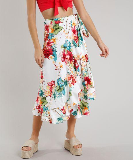 Saia-Feminina-Midi-Envelope-Estampada-Floral-Off-White-9534424-Off_White_1