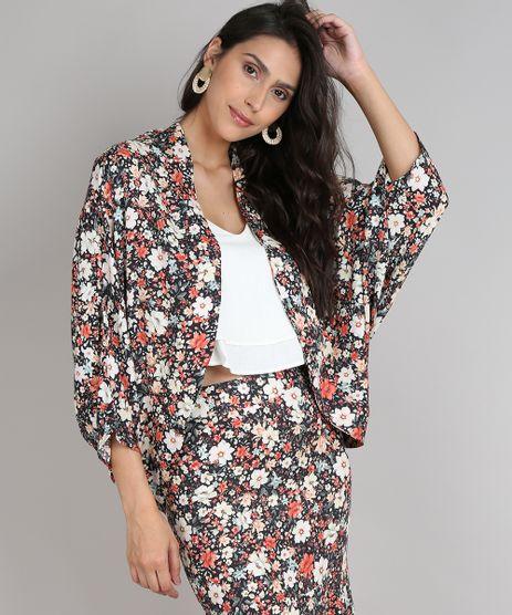 Kimono-Feminino-Amplo-Estampado-Floral-Preto-9646868-Preto_1