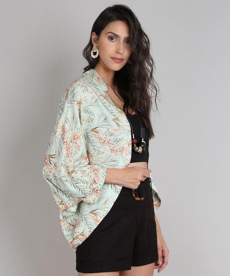 Kimono-Feminino-Estampado-Floral-Verde-Claro-9646867-Verde_Claro_1