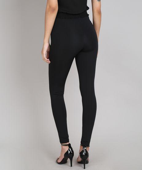 Calca-Legging-Feminina-Basica-com-Ziper-Preta-9603143-Preto_2