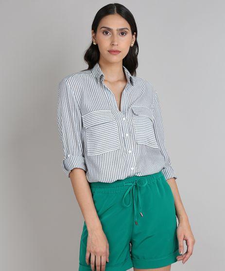 Camisa-Feminina-Listrada-com-Bolso-Manga-Longa-Off-White-9560601-Off_White_1