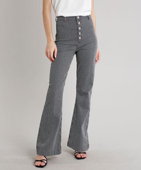 Calca-Jeans-Feminina-Mindset-Flare-Listrada--Preta-9719507-Preto_1