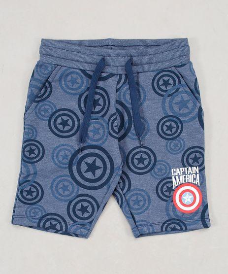 Bermuda-Infantil-Capitao-America-Estampada-em-Moletom-com-Bolso-e-Cordao-Azul-Marinho-9659208-Azul_Marinho_1