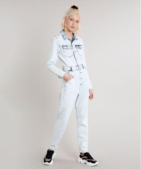 Macacao-Jeans-Feminino-com-Bolsos-Manga-Longa-Azul-Claro-9666372-Azul_Claro_1