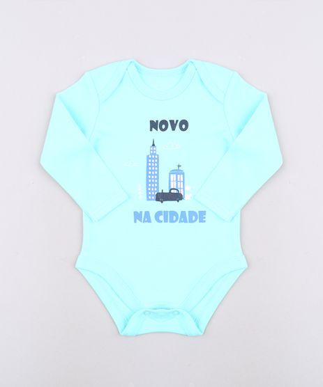 Body-Infantil--Novo-na-Cidade--Manga-Curta-Verde-Agua-9457037-Verde_Agua_1