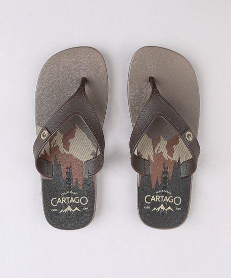 Chinelo-Infantil-Cartago-Marrom-9666251-Marrom_1