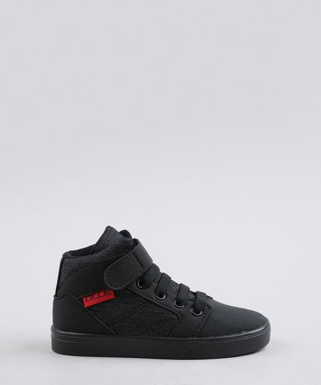 Tenis-Jeans-Infantil-Ollie-Cano-Alto-com-Velcro-Preto-9659836-Preto_1