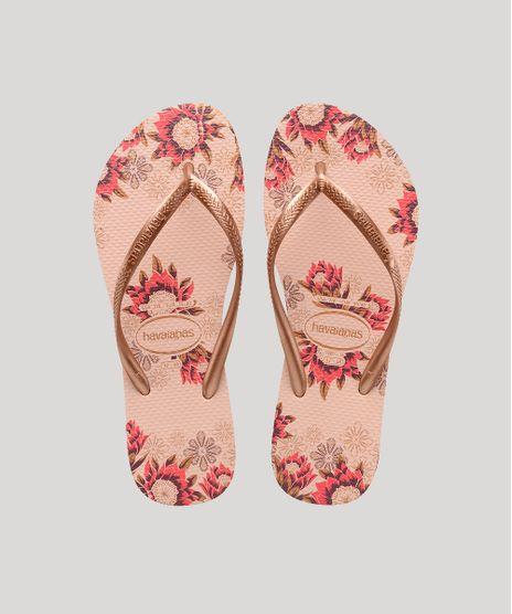 Chinelo-Feminino-Havaianas-Slim-Estampado-Floral-Rose-9666964-Rose_1