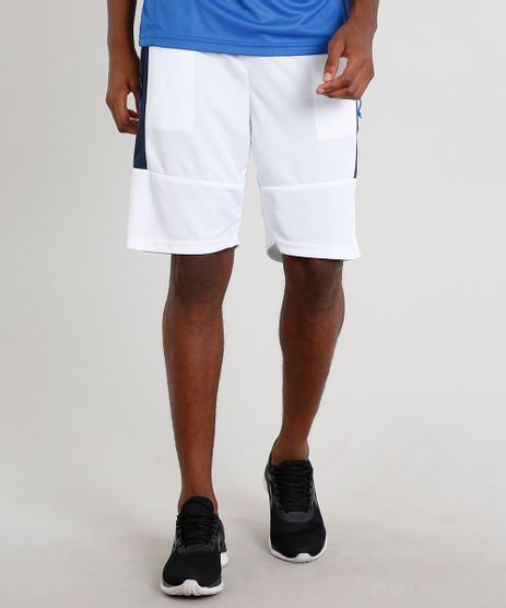 Bermuda-Masculina-Esportiva-Ace-com-Faixa-Lateral-e-Bolsos-Branca-9602717-Branco_1