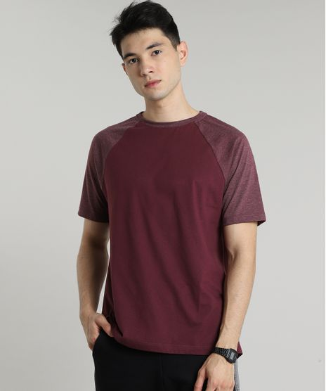 Camiseta-Masculina-Raglan-Basica-Manga-Curta-Decote-Careca-Vinho-8808223-Vinho_1