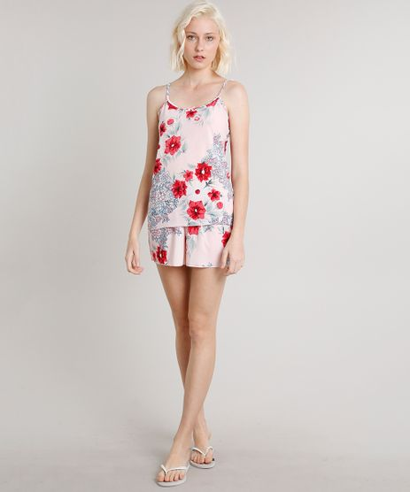 Short-Doll-Feminino-Estampado-Floral-Rosa-Claro-9550535-Rosa_Claro_1