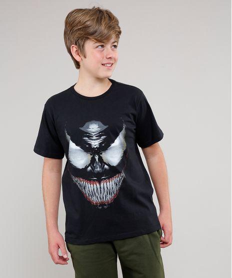 Camiseta-Infantil-Venom-Manga-Curta-Preta-9646755-Preto_1