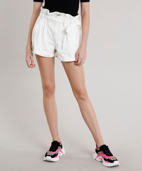 Short-de-Sarja-Feminino-Clochard-com-Faixa-Off-White-9685718-Off_White_1