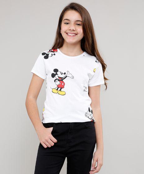 Blusa-Infantil-Mickey-Estampada-Manga-Curta--Branca-9635660-Branco_1