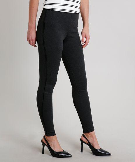 Calca-Legging-Feminina-Basica--Cinza-Mescla-Escuro-9603142-Cinza_Mescla_Escuro_1