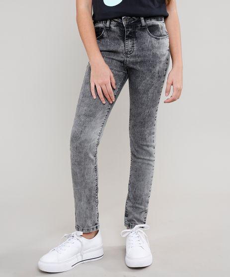 Calca-Jeans-Infantil-com-Bolsos-Preta-9615006-Preto_1