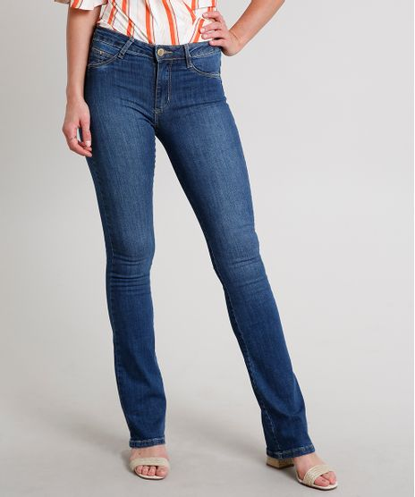 Calca-Jeans-Feminina-Sawary-Flare-Pull-Up-Azul-Escuro-9671813-Azul_Escuro_1