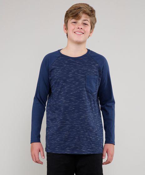 Camiseta-Infantil-Raglan-com-Bolso-Manga-Longa-Azul-Marinho-9553948-Azul_Marinho_1