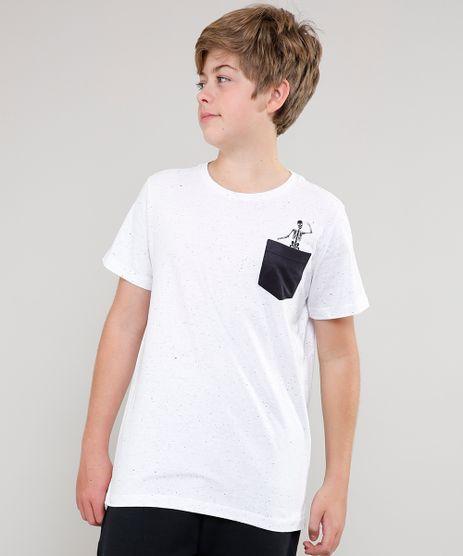 Camiseta-Infantil-Com-Bolso-Manga-Curta-Off-White-9640015-Off_White_1
