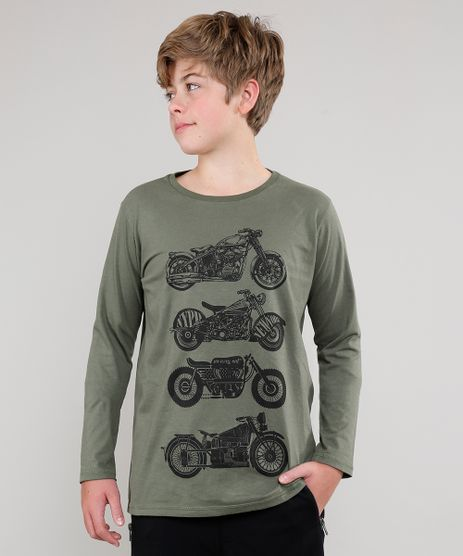 Camiseta-Infantil-Tal-Pai-Tal-Filho-Motocicletas-Manga-Longa--Verde-Militar-9542444-Verde_Militar_1
