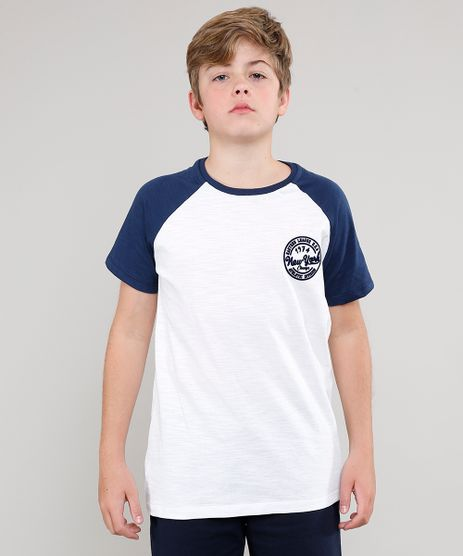 Camiseta-Infantil--New-York--Raglan-Manga-Curta--Off-White-9630900-Off_White_1
