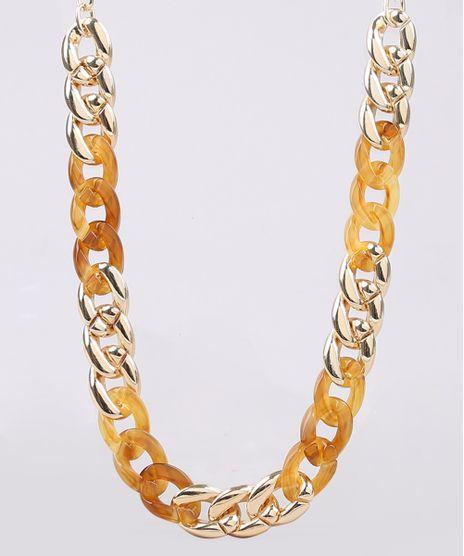 Colar-Feminino-em-Corrente-Dourado-9546075-Dourado_1