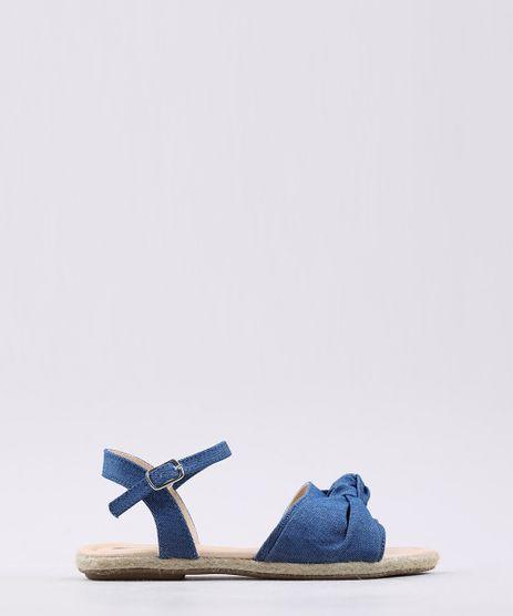 Rasteira-Infantil-em-Jeans-com-Laco-e-Corda-Azul-Escuro-9710106-Azul_Escuro_1