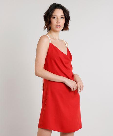Vestido-Feminino-Curto-com-Corda-Gola-Degage-Vermelho-9614822-Vermelho_1