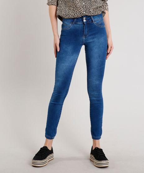 Calca-Jeans-Feminina-Super-Skinny-Pull-Up-Azul-Medio-9708724-Azul_Medio_1