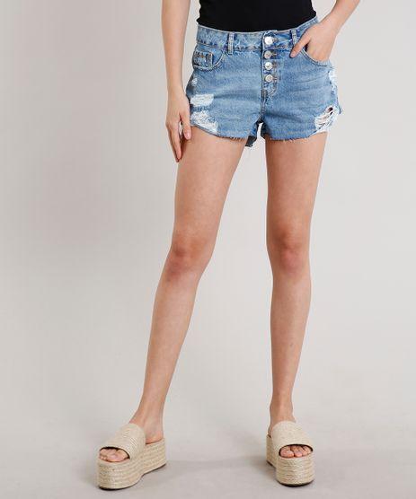Short-Jeans-Feminino-Boyfriend-Destroyed-com-Bolsos-Azul-Medio-9669105-Azul_Medio_1