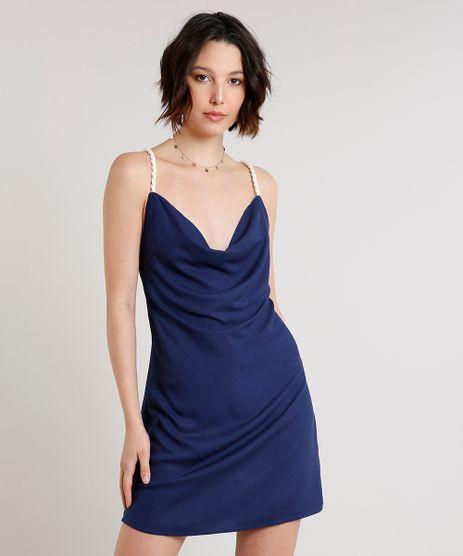 Vestido-Feminino-Curto-com-Alca-de-Corda-Gola-Degage-Azul-Marinho-9614822-Azul_Marinho_1