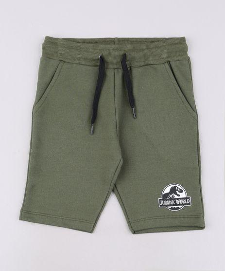 Bermuda-Infantil-em-Moletom-Jurassic-World-com-Bolso-Verde-Militar-9651940-Verde_Militar_1
