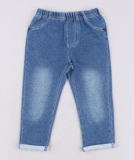 Calca-Jeans-Infantil-Skinny-em-Moletom-com-Bolsos--Azul-Escuro-9574523-Azul_Escuro_1