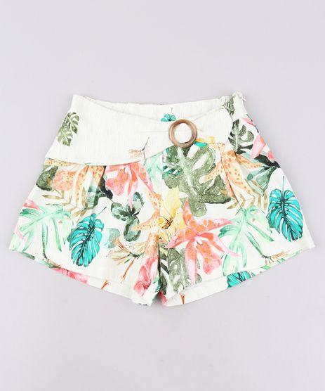 Short-Infantil-Estampado-Floral-com-Fivela-Bege-Claro-9662520-Bege_Claro_1