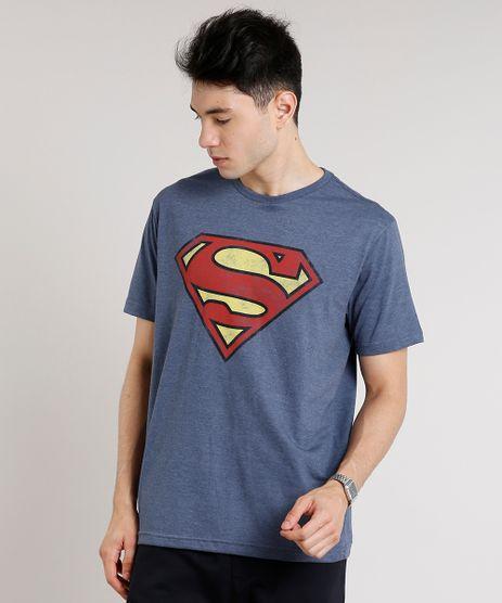 Camiseta-Masculina-Super-Homem-Manga-Curta-Gola-Careca-Azul-Marinho-9677157-Azul_Marinho_1