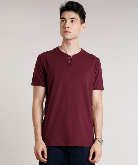 Camiseta-Masculina-Basica-Manga-Curta-Gola-Portuguesa-Vinho-9652148-Vinho_1