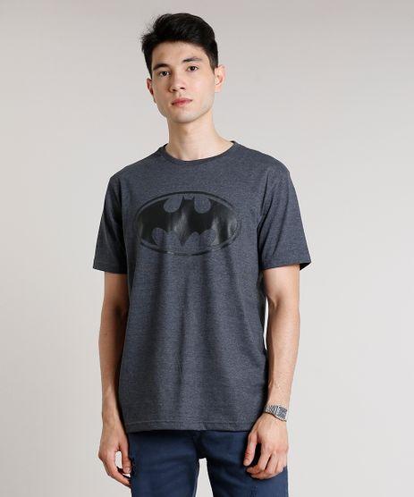 Camiseta-Masculina-Batman-Manga-Curta-Gola-Careca-Cinza-Mescla-Escuro-9677146-Cinza_Mescla_Escuro_1