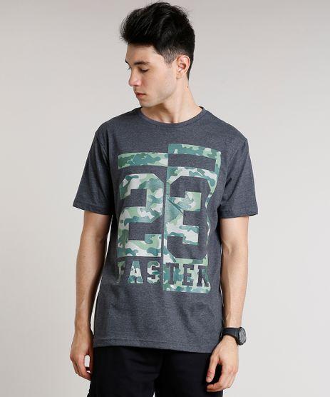 Camiseta-Masculina-Esportiva-Ace--23-Faster--Camuflada-Manga-Curta-Gola-Careca-Cinza-Mescla-Escuro-9710930-Cinza_Mescla_Escuro_1