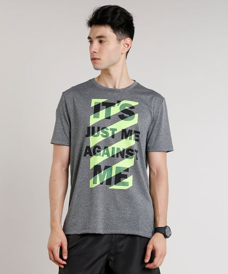 Camiseta-Masculina-Esportiva-Ace--Just-Me-----Neon-Manga-Curta-Gola-Careca-Cinza-Mescla-9708939-Cinza_Mescla_1