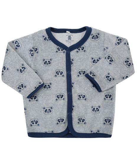 Cardigan-Estampado-Animal-Print-em-Plush-de-Algodao---Sustentavel-Cinza-8479677-Cinza_1