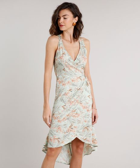 Vestido-Feminino-Midi-Mullet-Envelope-Estampado-Floral-Sem-Manga-Verde-Claro-9646866-Verde_Claro_1