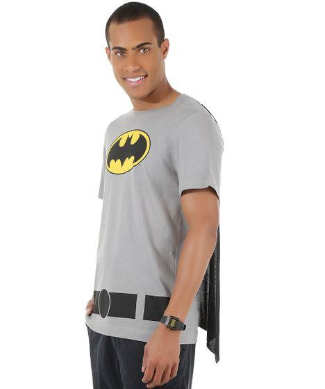 Camiseta-Batman-com-Capa-Cinza-8525670-Cinza 1 ... b62c298db2a