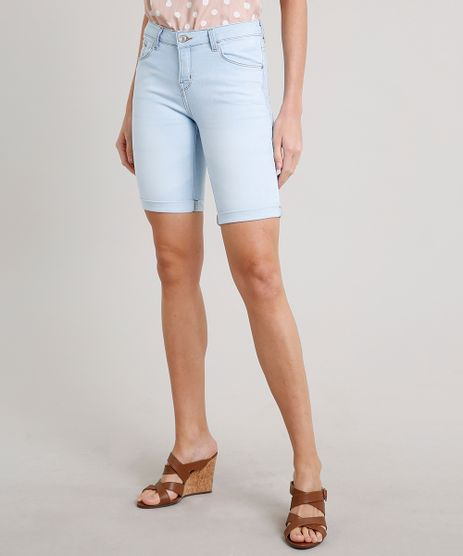 Bermuda-Jeans-Feminina-Ciclista-Barra-Dobrada-Azul-Claro-9654930-Azul_Claro_1