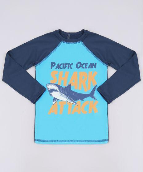 Camiseta-de-Praia-Infantil-Tubarao-Raglan-Manga-Longa-Azul-Marinho-9655393-Azul_Marinho_1