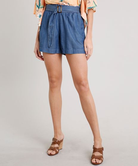 Short-Jeans-Feminino-Clochard-com-Fivela-e-Bolsos-Azul-Escuro-9684512-Azul_Escuro_1