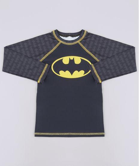 Camiseta-de-Praia-Infantil-Batman-Raglan-Manga-Longa-Preta-9655437-Preto_1
