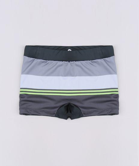 Sunga-Boxer-Infantil-com-Listras-Protecao-UV50---Preta-9655397-Preto_1