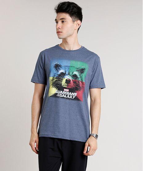 Camiseta-Masculina-Rocket-Guardioes-da-Galaxia-Manga-Curta-Gola-Careca-Azul-Marinho-9677154-Azul_Marinho_1